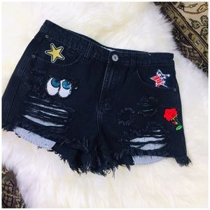 Go Go USA Other - GoGo Black Jeans Ripped shorts